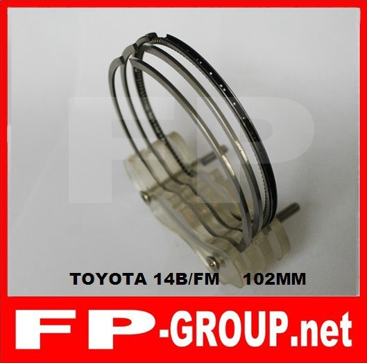 Toyota 14B 14B(New) 3B piston ring