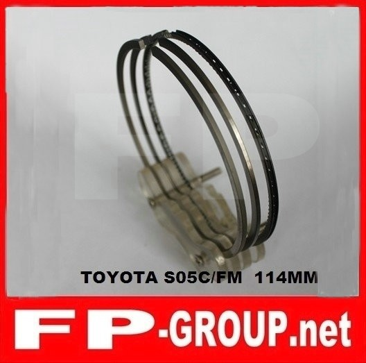 Toyota S05C S05D piston ring