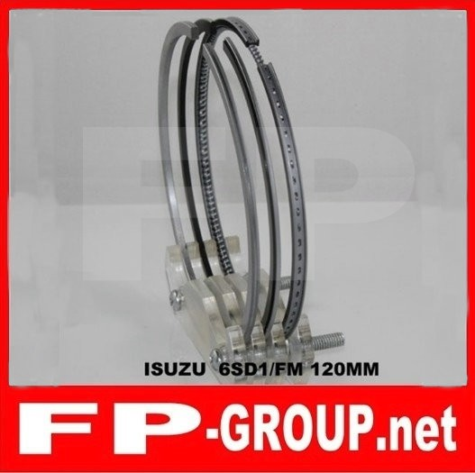 Isuzu 6SD1  piston  ring