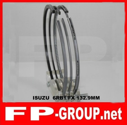 Isuzu 6RB1  piston  ring