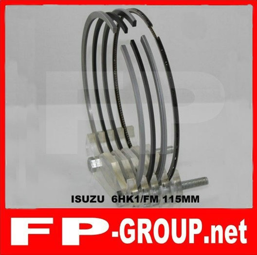 Isuzu 6HK1  piston  ring