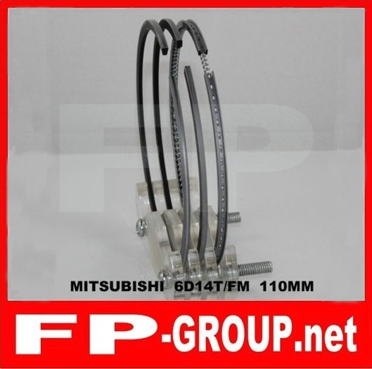 Mitsubishi 6D14T  piston  ring