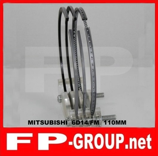 Mitsubishi 6D14 piston  ring