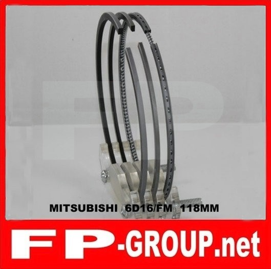 Mitsubishi 6D16 piston  ring