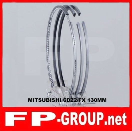 Mitsubishi 6D22   piston  ring
